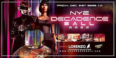 Decadence Ball Dallas NYE 2022 tickets