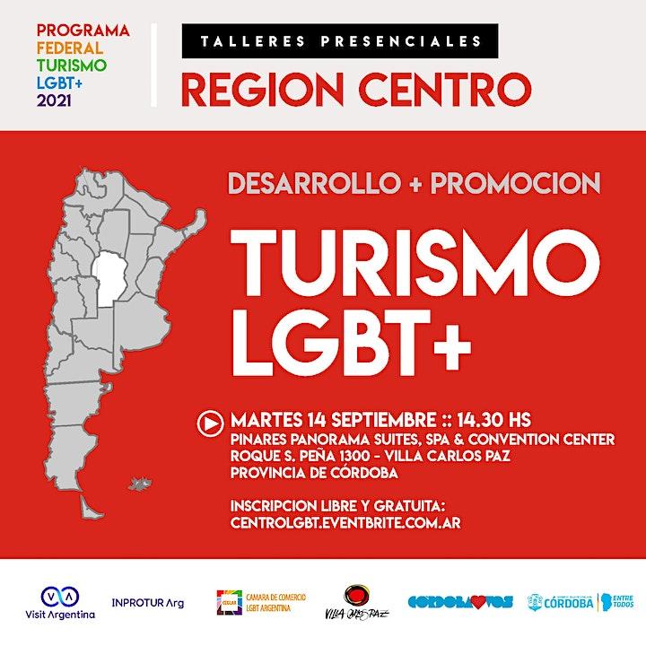 Imagen de REGION CENTRO :: PROGRAMA FEDERAL TURISMO LGBT+ (evento presencial)