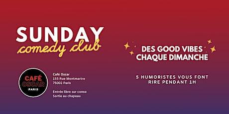 Standup : sunday comedy club billets
