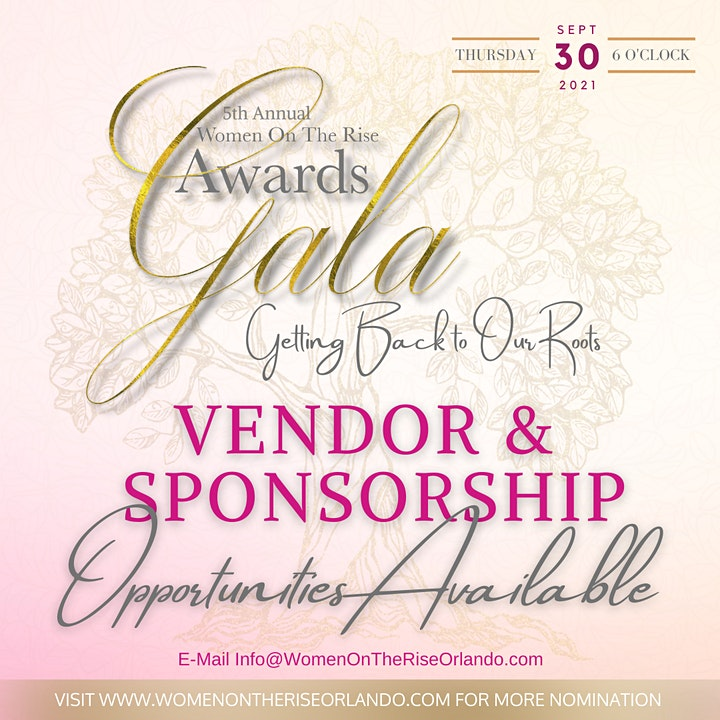 5th Annual Women on the Rise Awards Gala Sponsored by FORD image
