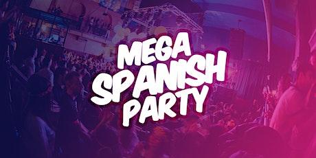 Mega Spanish Party | Última fiesta del 2021 tickets