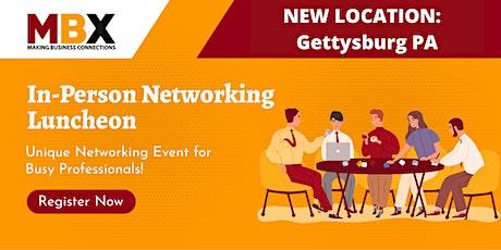 Gettysburg In-Person Networking Luncheon tickets