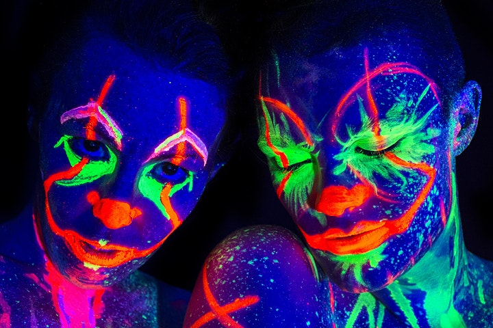 NEON NAKED DEATH DRAWING | HALLOWEEN SPECIAL | THE JAGO | DALSTON image