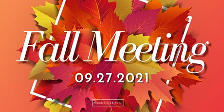Fall State Meeting tickets