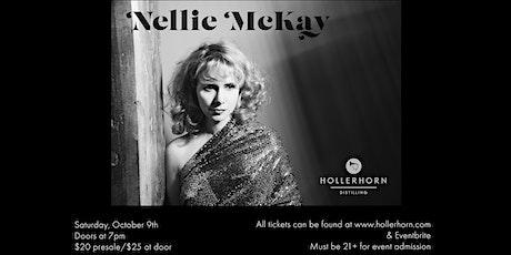 Nellie McKay at Hollerhorn Distilling tickets