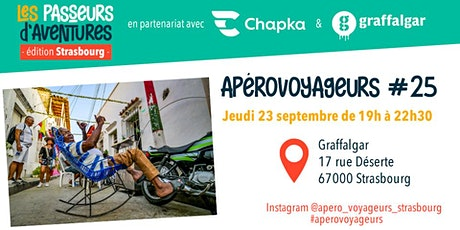 Apéro Voyageurs Strasbourg #25 Tickets
