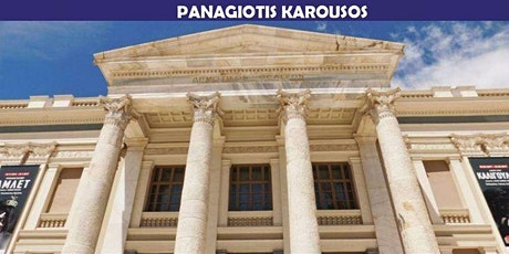 CONCERT OF PANOS KAROUSOS AT THE MUNICIPAL THEATRE OF PIRAEUS tickets