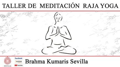 Taller de Meditación Raja Yoga con José A. Cruz entradas