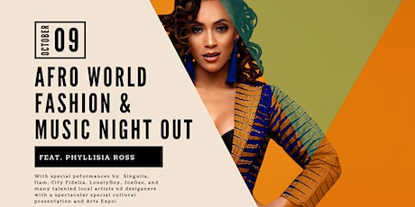 AFRO WORLD FASHION & MUSIC NIGHT OUT tickets