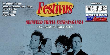 FESTIVUS/SEINFELD TRIVIA - ONE TICKET PER TEAM tickets
