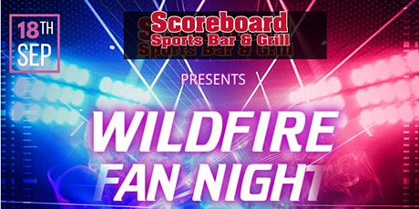 Wildfire The Band - Fan Night at the Scoreboard Sportsbar and Grill tickets