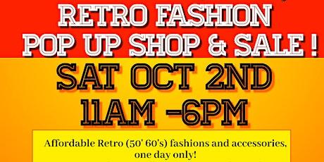 Lady Gray Retro pop up shop & sale! tickets