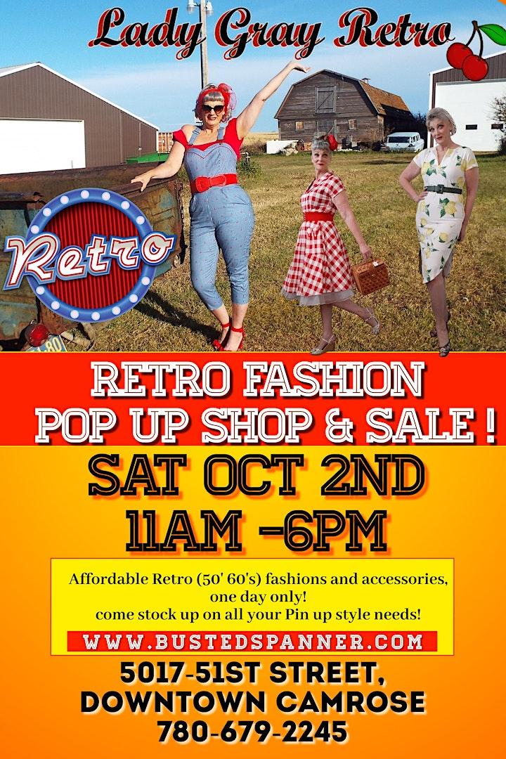 Lady Gray Retro pop up shop & sale! image