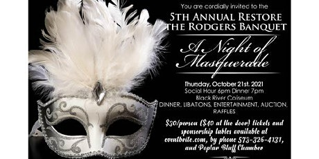 5th Annual Rodgers Theatre Banquet tickets