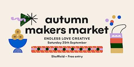 Sheffield Makers Market -  30 independent  art, craft and design stalls tickets