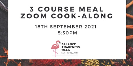 Three Course Vegetarian Meal Cook-Along tickets