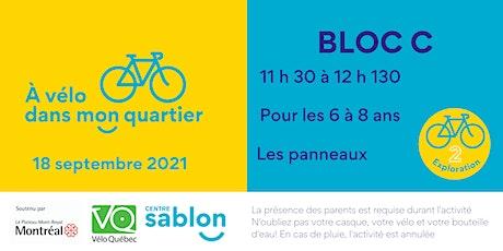 À Vélo dans mon quartier - 18 septembre 2021 - Bloc C billets