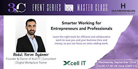 Hultrepreneurs - 3xC  -Masterclass with Abdul Kerim Aydemir tickets