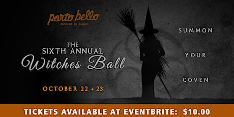 Sixth Annual Witches' Ball (SATURDAY) tickets