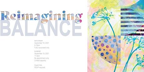 Reimagining Balance - Solo Art Show tickets