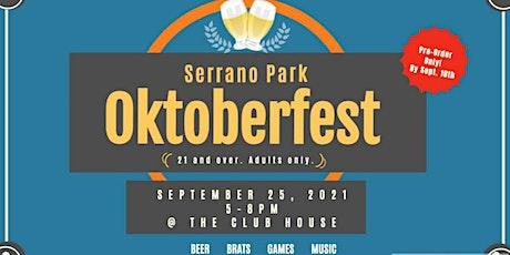 Serrano Park Oktoberfest tickets