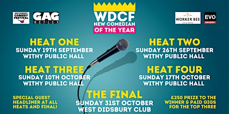 WDCF New Comedian of the Year Competition - Heat One tickets