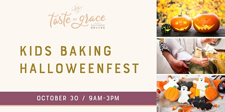Kids Baking Halloweenfest |  ages 8-14 tickets