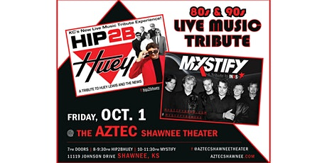 Hip 2B Huey (Huey Lewis tribute) with opener MYSTIFY  (INXS) tribute tickets