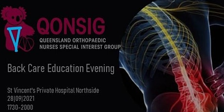 Back Care Education Evening tickets