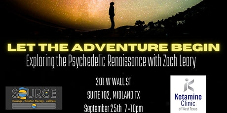 Exploring the Psychedelic  Renaissance with Zach Leary tickets