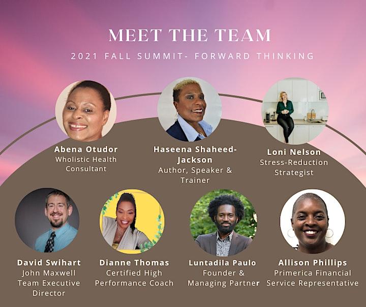 Forward Thinking - Fall 2021 Summit image