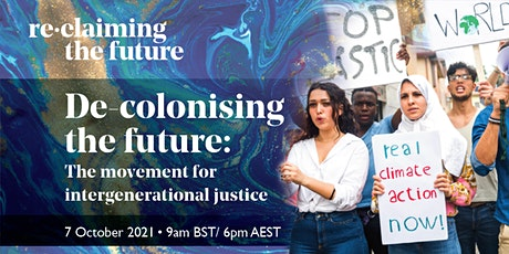 De-colonising the future: the movement for intergenerational justice tickets