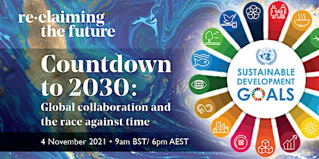 Countdown to 2030: global collaboration and the race against time tickets