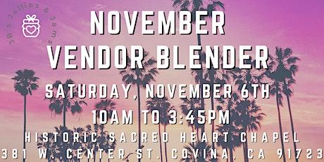 November Vendor Blender at Historic Sacred Heart Chapel tickets