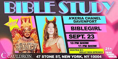 A'KERIA DAVENPORT & BIBLEGIRL @ THE CAULDRON NYC tickets