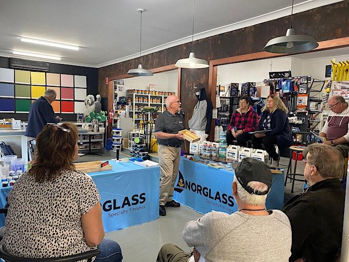 Norglass Liquid Glass Demo image
