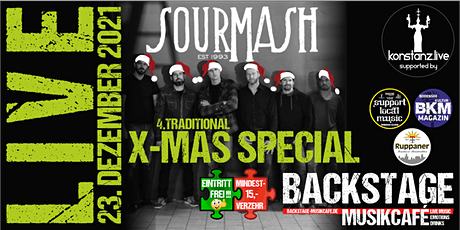 4. Traditional SOUR MASH X-MAS SPECIAL Tickets