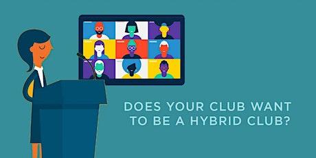 D27 Toastmasters: Conducting Hybrid Club Meetings 101 tickets