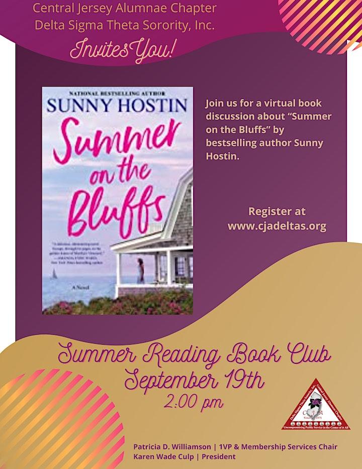 CJA Summer Reading Book Club image