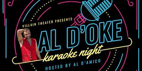 AL D'Oke - Free Karaoke Night tickets