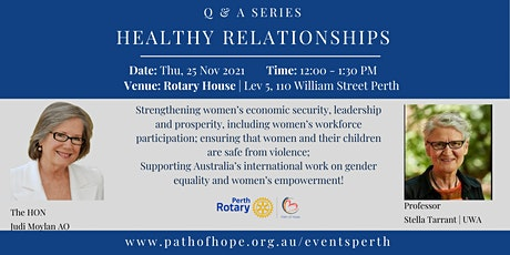 Healthy Relationships Q & A Series tickets
