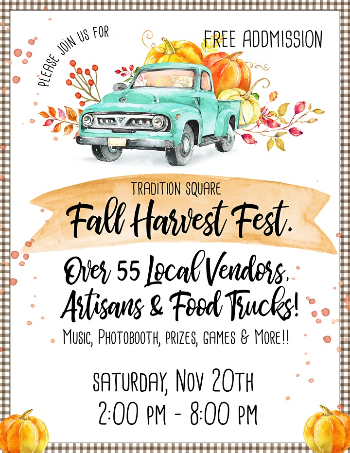 FALL HARVEST FEST. at Tradition Square image