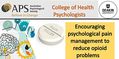 Encouraging psychological pain management to reduce opioid problems tickets
