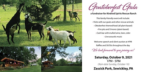 Goatoberfest Gala - A Fundraiser for Kindred Spirits Rescue Ranch tickets
