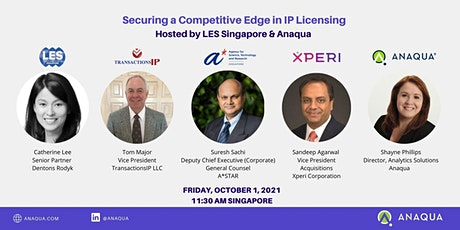 Securing a Competitive Edge in IP Licensing tickets