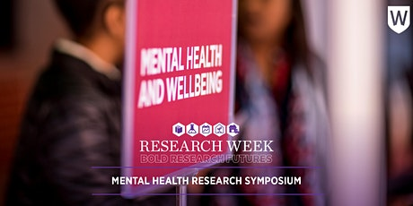 Mental Health Research Symposium tickets