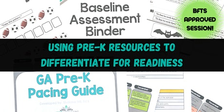 Using Pre-K Resources to Differentiate for Readiness tickets