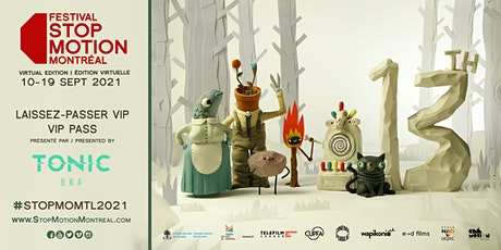Festival Stop Motion Montréal 2021 tickets