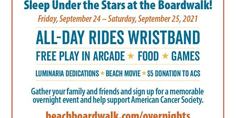 Santa Cruz Beach Boardwalk Fall Campout tickets
