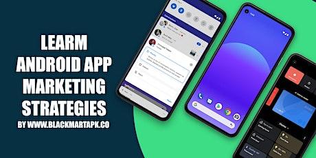 Android App Marketing Strategies tickets